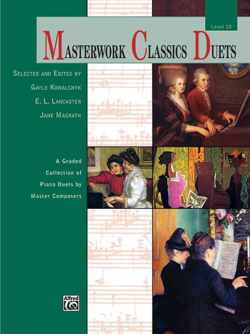 Masterworks Classics Duets Level 10