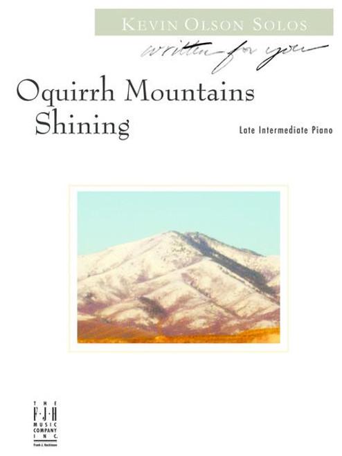 Oquirrh Mountains Shining - Late Intermediate