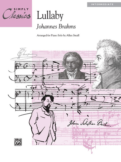 Lullaby By Johannes Brahms / arr. Allan Small (Intermediate)(Simply Classics)