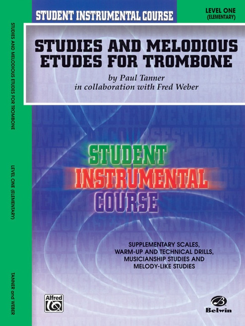 Student Instrumental Course: Studies and Melodious Etudes for Trombone Level 1