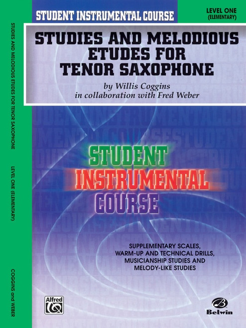 Student Instrumental Course: Studies and Melodious Etudes for Tenor Saxophone Level 1