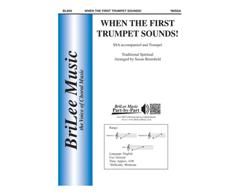When the First Trumpet Sounds! - SSA