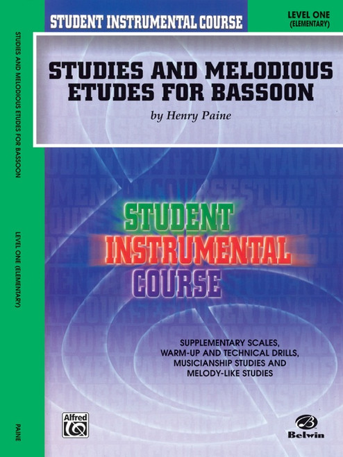 Student Instrumental Course: Studies and Melodious Etudes for Bassoon Level 1