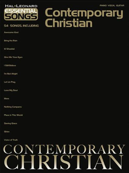 Contemporary Christian (Essential Songs)- Piano Vocal Guitar