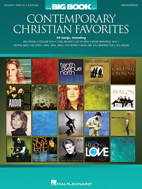 The Big Book of Contemporary Christian Favorites (3rd Edition) for Piano / Vocal / Guitar