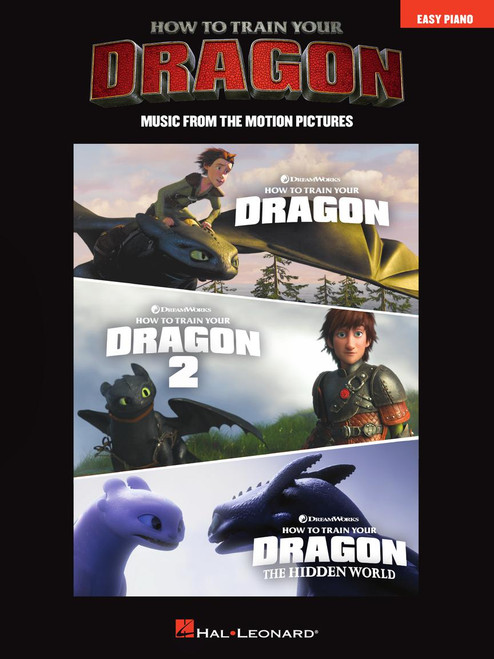 How to Train Your Dragon: Music from the Music Picture - Easy Piano