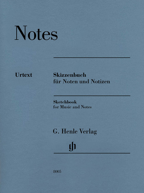 Sketchbook for Music and Notes
