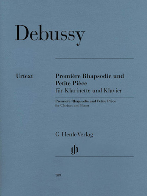 Debussy - Premiére Rhapsodie and Petite Piéce for Clarinet and Piano