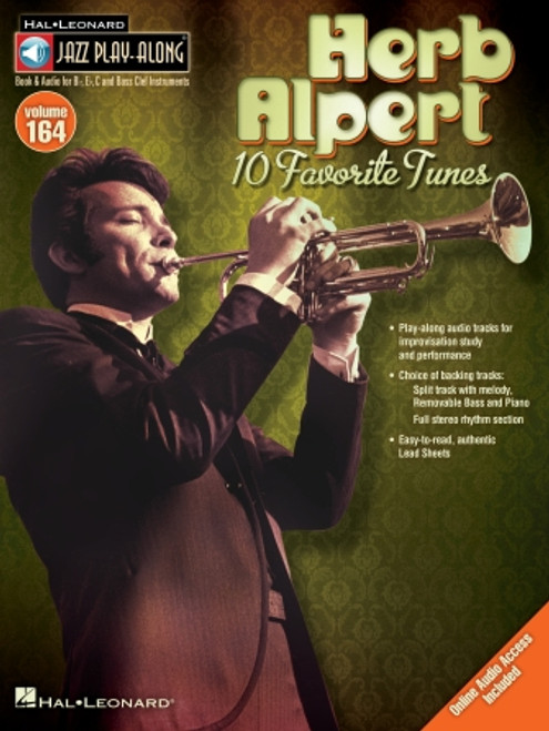 Herb Alpert - Jazz Play-Along Volume 164
