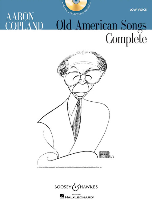 Aaron Copland Old American Songs Complete ( Audio Access Included )