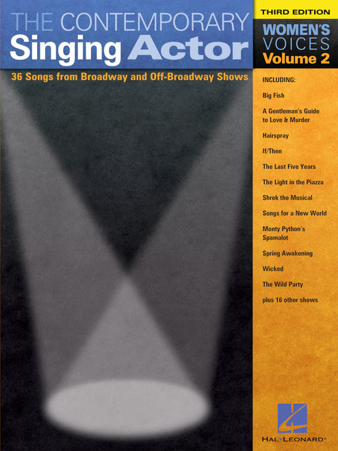 The Contemporary Actor Volume 2 for Women's Voice (3rd Edition)