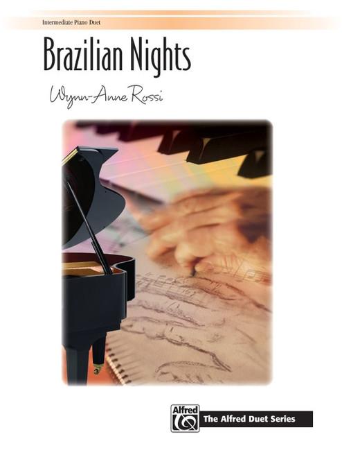 Brazilian Nights - Intermediate Piano Duet