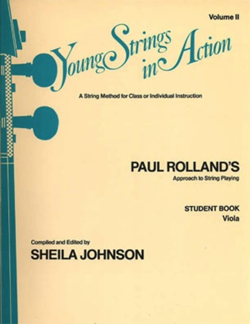 Young Strings in Action Student Book Volume 2 - Viola