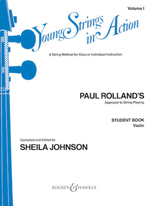 Young Strings in Action Student Book Volume 1 - Violin