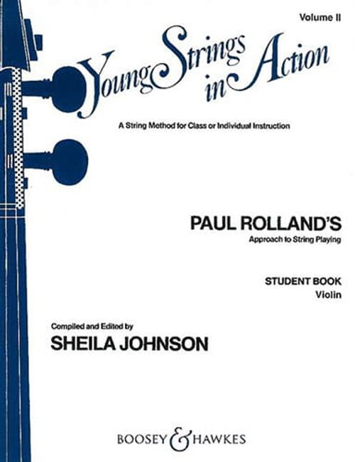 Young Strings in Action Student Book Volume 2 - Violin