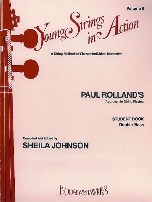 Young Strings in Action Student Book Volume 1 - Double Bass