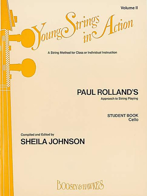Young Strings in Action Student Book Volume 2 - Cello
