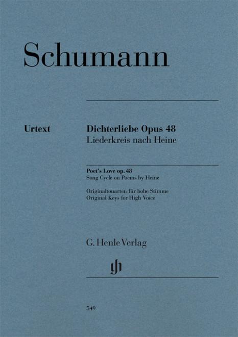 Schumann - Poet's Love Opus 48 - Original Keys for High Voice