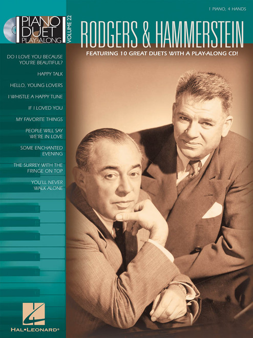 Rodgers & Hammerstein - Piano Duet Play-Along Volume 22