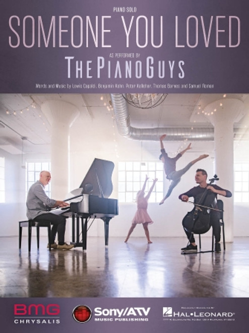 The Piano Guys - Someone You Loved - Piano Solo
