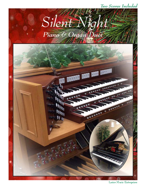 Silent Night - Piano & Organ Duet (Two Scores Included)