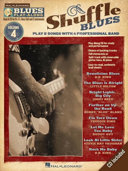 Blues Play-Along Volume 4 - Shuffle Blues