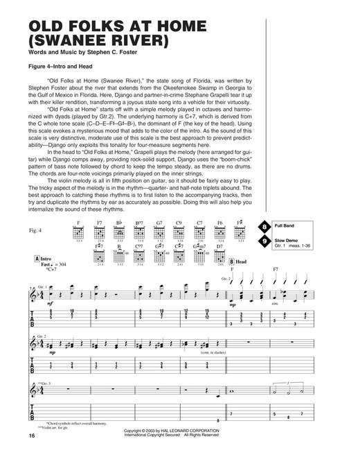 Guitar Signature Licks: The Best of Django Reinhardt (with Audio Access)