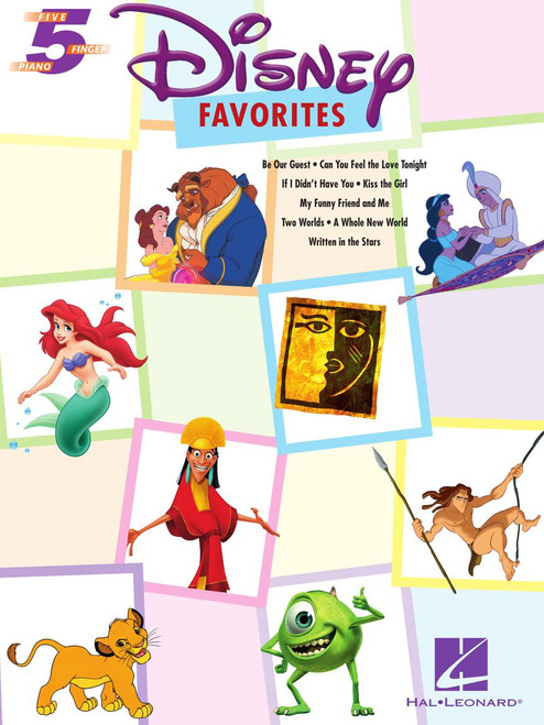 Disney Favorites - Five Finger Piano