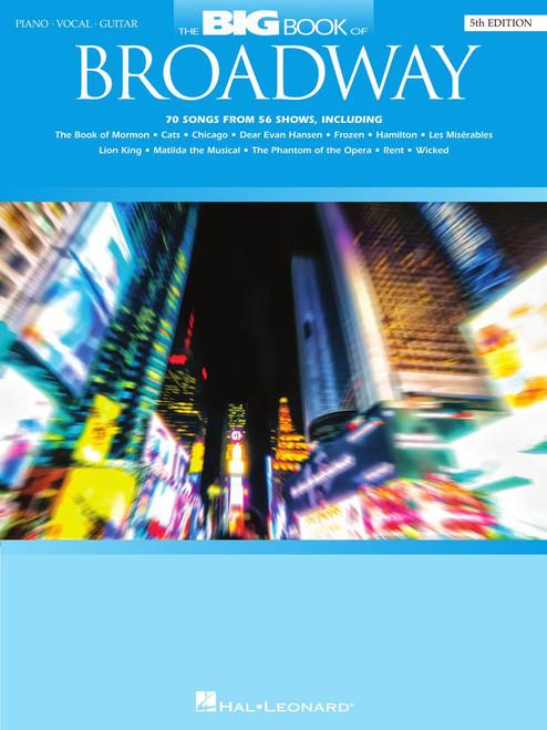 Big Book of Broadway - Piano/Vocal/Guitar - 5th Edition
