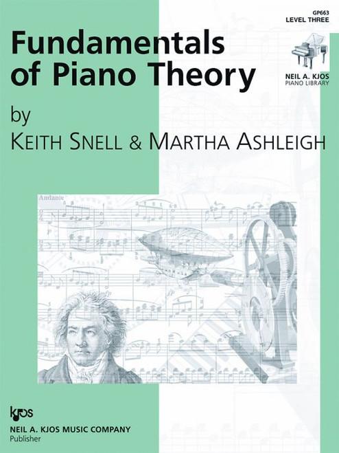 Fundamentals of Piano Theory, Level Three