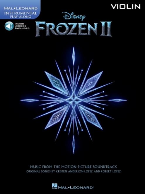 Frozen II - Violin Play-Along (w/ Audio Access)