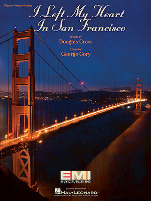 I Left My Heart in San Francisco - Piano/Vocal