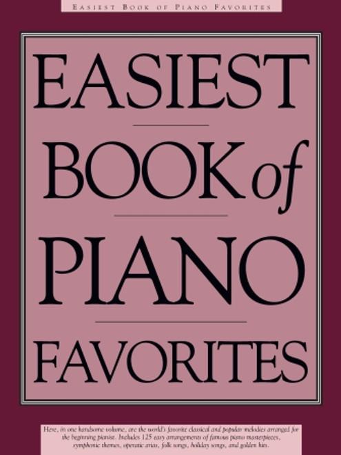 Easiest Book of Piano Favorites