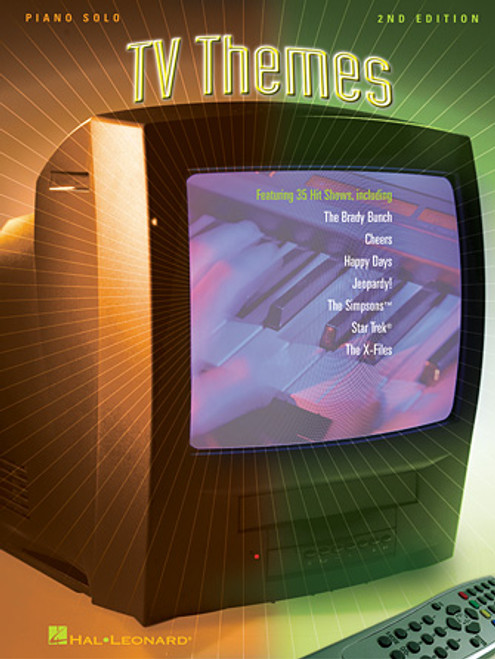 TV Themes for Piano Solo (2nd Edition)