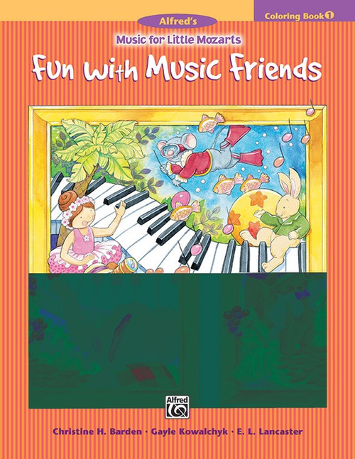 Music for Little Mozarts: Coloring Book 1 - Fun with Music Friends