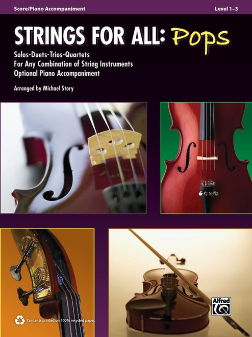 Strings for All: Pops - Score/Piano Accompaniment