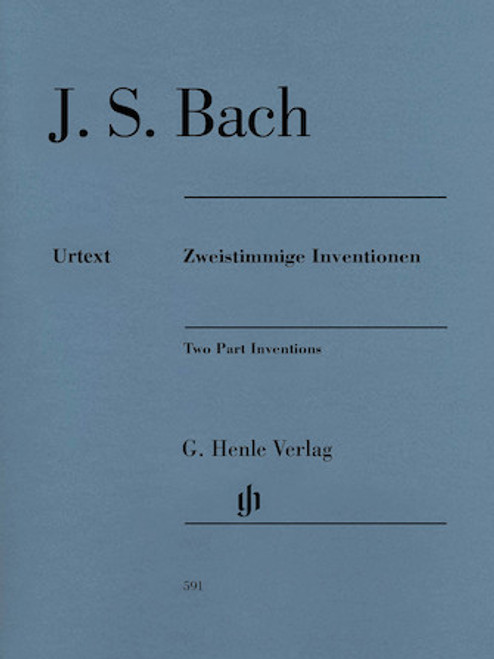 Bach - Two Part Inventions - Piano Solo