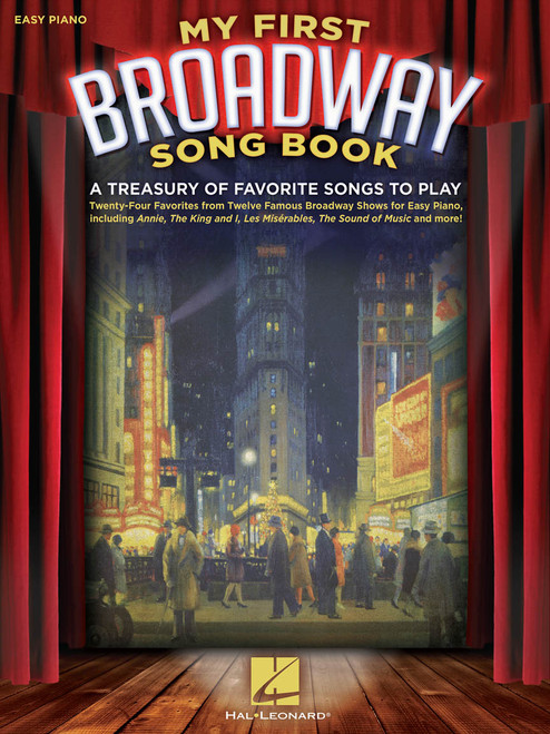 My First Broadway Songbook - Easy Piano