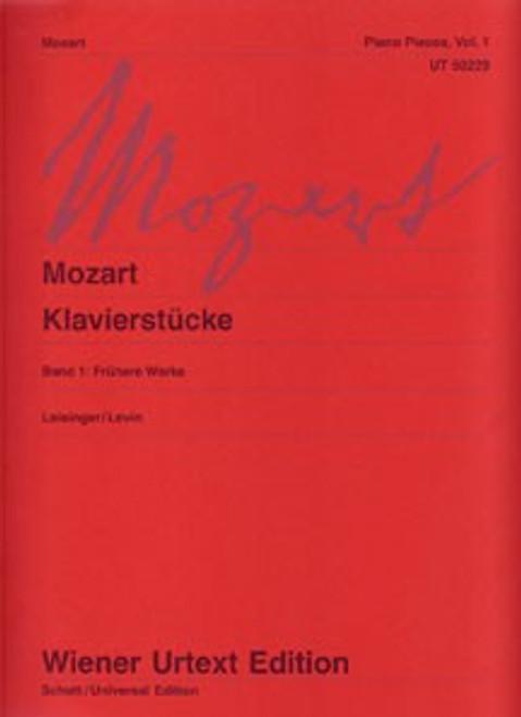 Mozart - Piano Pieces, Vol. 1 (Wiener Urtext Edition)  for Intermediate to Advanced Piano
