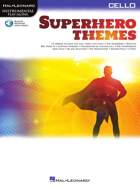Superhero Themes - Cello Songbook