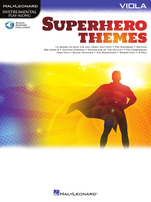 Superhero Themes - Viola Songbook