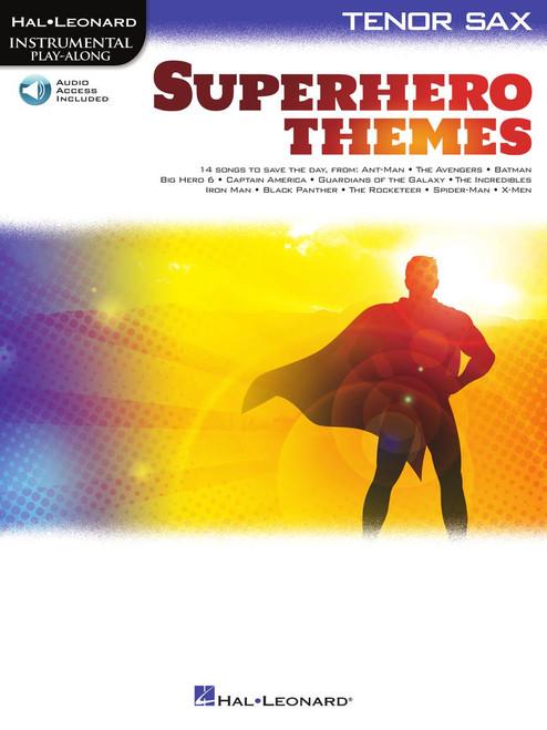 Superhero Themes - Tenor Saxophone Songbook