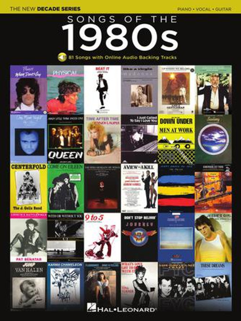 The New Decade Series - The Songs Of The 1980s (Online Audio) Piano · Vocal · Guitar