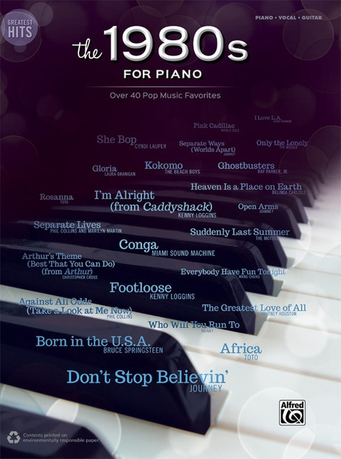 Greatest Hits: The 1980s for Piano - Piano · Vocal · Guitar