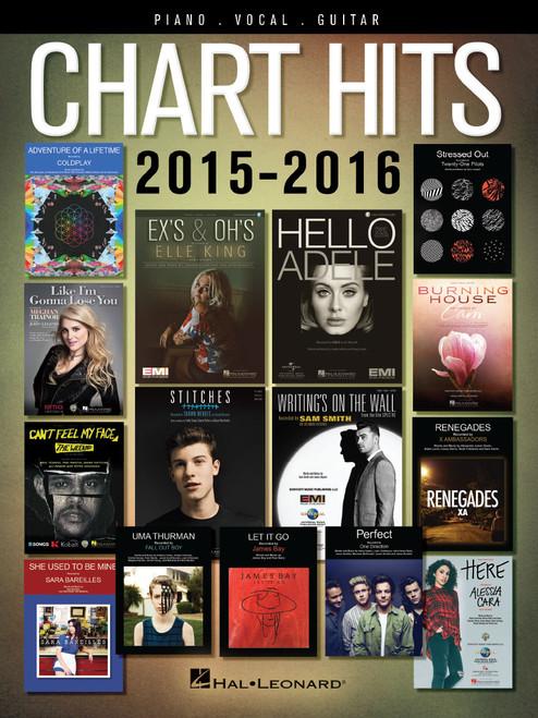 Chart Hits 2015-2016 - Piano · Vocal · Guitar