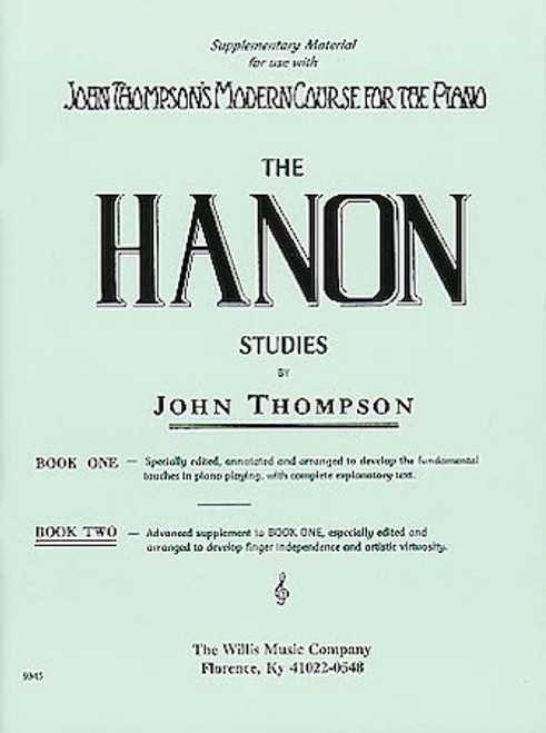 The Hanon Studies by John Thompson Book 2