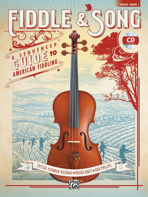 Fiddle & Song Book 1 for Violin (CD Included)