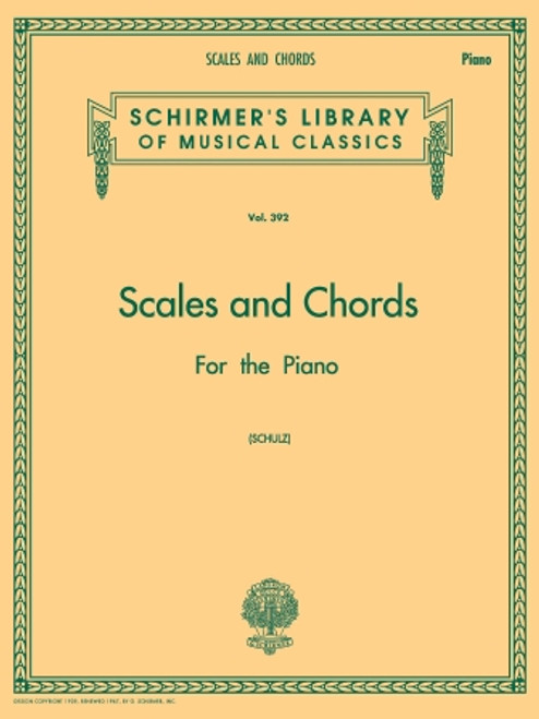 Schultz - Scales and Chords in all the Major and Minor Keys