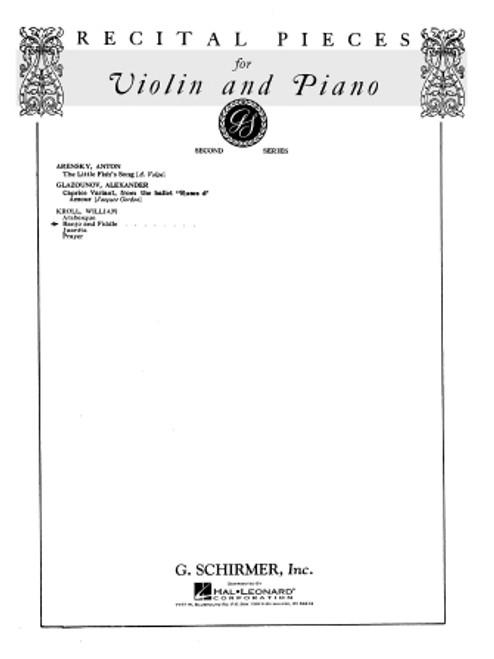 William Kroll - Banjo and Fiddle for Violin & Piano