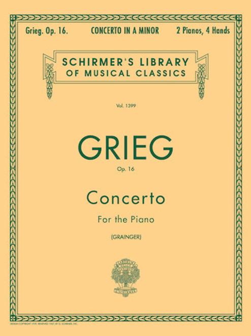 Grieg - Concerto in A Minor, Op. 16 - Piano Duet